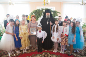 14.01.2019 г. епископ Корнилий посетил Тацинскую школу-интернат VIII вида.