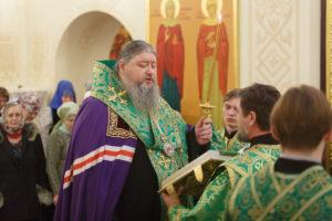 15.01.2019 г. епископ Корнилий молился за Божественной литургией
