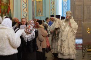 18.01.2019 г. епископ Корнилий совершил Божественную литургию.