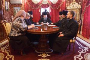 23.01.2019 г. епископ Корнилий провел совещание на епархиальном подворье