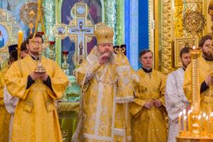 23.02.2019 г. епископ Корнилий совершил Всенощное бдение