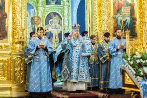 24.02.2019 г. епископ Корнилий совершил Всенощное бдение