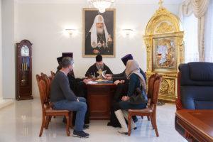 21.02.2019 г. епископ Корнилий провел совещание по вопросу росписи храма