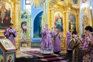 8.03.2019 г. епископ Корнилий совершил полиелейное богослужение.