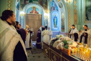 1.02.2019 г. епископ Корнилий совершил заупокойное богослужение