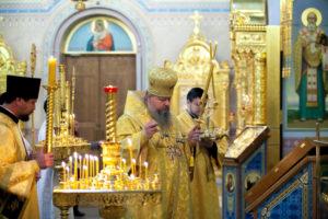2.03.2019 г. епископ Корнилий совершил Всенощное бдение