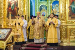 03.03.2019 года епископ Корнилий совершил акафист святителю Николаю Чудотворцу.
