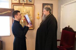 4.03.2019 г. епископ Корнилий молился на Всенощном бдении в домовом храме.