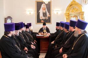 6.03.2019 г. епископ Корнилий провел совещание