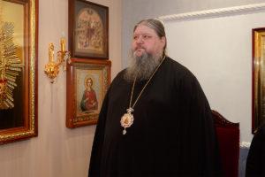 21 марта 2019 г. епископ Корнилий молился за уставным полиелейным богослужением