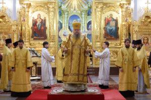 3.03.2019 г. епископ Корнилий совершил Божественную литургию