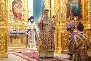 31 марта 2019 года епископ Корнилий совершил Божественную литургию в кафедральном соборе Рождества Христова