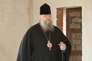 18 марта 2019 года епископ Корнилий осмотрел строящееся здание на территории кафедрального собора.