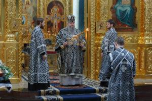 13.03.2019 г. епископ Корнилий совершил литургию Преждеосвященных Даров