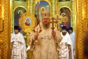 2.03.2019 г. епископ Корнилий совершил Божественную литургию