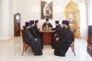 15 апреля 2019 года епископ Корнилий провел встречу с руководителем Духовно-просветительского центра