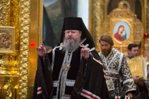 22 апреля 2019 года епископ Корнилий совершил уставное богослужение