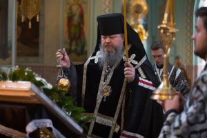 23 апреля 2019 года епископ Корнилий совершил уставное богослужение