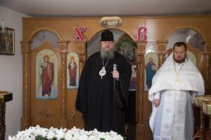 27 апреля 2019 года, епископ Корнилий совершил объезд ряда храмов города Волгодонска.