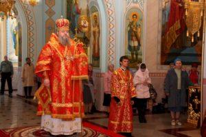 4.05.2019 — Всенощное бдение в кафедральном соборе Рождества Христова (Волгодонск)