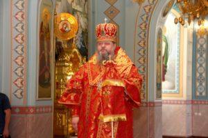 5.05.2019 – Всенощное бдение в кафедральном соборе Рождества Христова (Волгодонск)