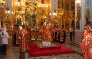 11.05.2019 — Всенощное бдение в кафедральном соборе Рождества Христова (Волгодонск)