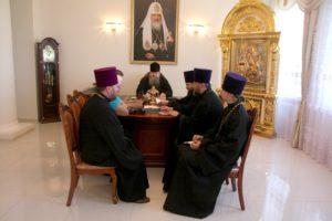 17.05.2019 — Епископ Корнилий провел совещание по созданию музея, посвященного Православию на Дону