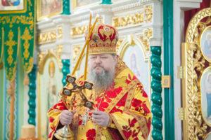 04.05.2019 г. епископ Корнилий совершил Божественную литургию в храме Живоначальной Троицы города Волгодонска.