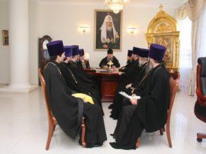 20.05.2019 — Совещание с духовенством в епархиальном управлении