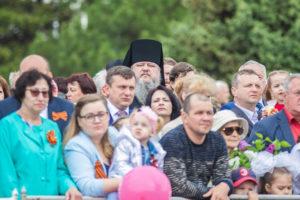 09.05.2019 г. епископ Корнилий с духовенством Волгодонской епархии принял участие в праздничном мероприятии по случаю 74-й годовщины со Дня Победы над немецко-фашистскими захватчиками.