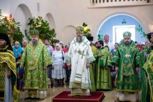 Епископ Корнилий принял участие богослужении в Свято-Иверском монастыре в Ростове-на-Дону