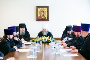 Епископ Корнилий принял участие в заседании Архиерейского совета Донской митрополии