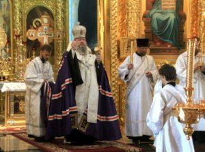 14.06.2019 — Вечернее богослужение и парастас в соборе Рождества Христова (Волгодонск)