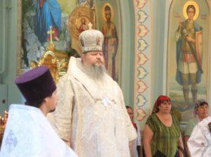 09.06.2019 — Божественная литургия в соборе Рождества Христова (г. Волгодонск)