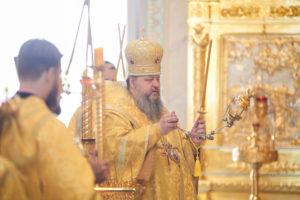 06.07.2019 г. епископ Корнилий совершил всенощное бдение в кафедральном соборе Рождества Христова города Волгодонска.
