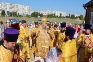 07.07.2019 — Божественная литургия в храме Иоанна Предтечи (г. Волгодонск)