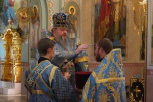 08.07.2019 — Всенощное бдение в соборе Рождества Христова (Волгодонск)