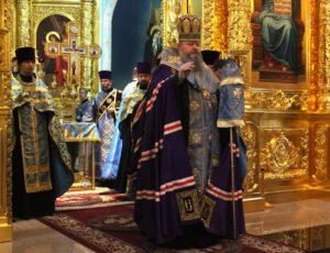 11.07.2019 – Божественная литургия и молебен в Соборе Рождества Христова