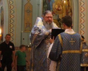 21.07.2019 — Епископ Корнилий совершил акафистное пение в честь Казанской Иконы Божией Матери