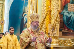 14.07.2019 г. епископ Корнилий совершил Божественную литургию в кафедральном соборе Рождества Христова города Волгодонска.
