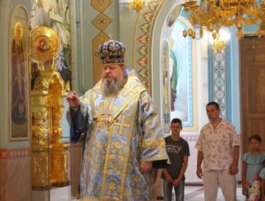 24.07.2019 — Всенощное бдение накануне празднования иконы Богородицы «Троеручица» (г. Волгодонск)