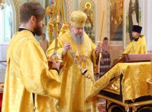 28.07.2019 — Акафист Николаю Чудотворцу в соборе Рождества Христова (г. Волгодонск)