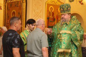 31.07.2019 — Всенощное бдение в приделе Серафима Саровского волгодонского кафедрального собора
