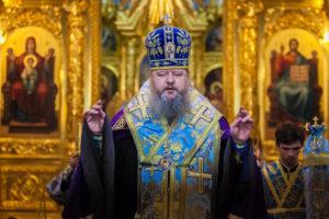25.07.2019 г. епископ Корнилий молился за Божественной литургией и совершил молебен в кафедральном соборе Рождества Христова города Волгодонска