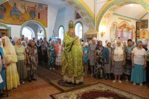 15.08.2019 — Божественная литургия в храме Василия Блаженного (г. Волгодонск)