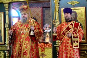 Божественная литургия в храме мучеников Флора и Лавра (г. Пролетарск)
