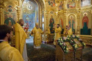 Митрополит Меркурий возглавил торжества в честь 20-летия Православной гимназии в Троице-Лыкове города Москвы