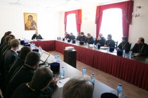 Митрополит Меркурий провел рабочее совещание по вопросам строительства храмов и развития новых приходов