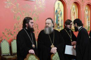 Митрополит Меркурий принял участие в совместном заседании Священного Синода и Высшего Церковного Совета Русской Православной Церкви