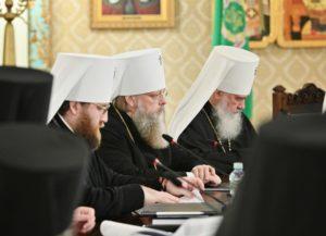 Митрополит Меркурий принял участие в заседании Высшего Церковного Совета